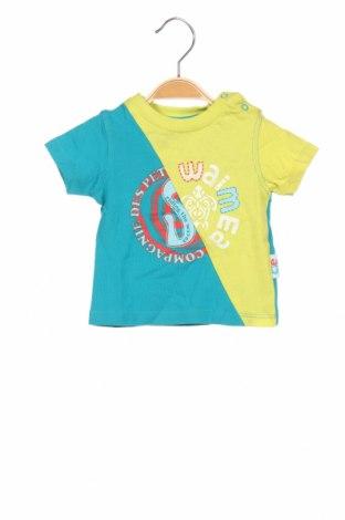 Παιδικό μπλουζάκι La Compagnie des Petits, Μέγεθος 3-6m/ 62-68 εκ., Χρώμα Πολύχρωμο, Βαμβάκι, Τιμή 6,43€
