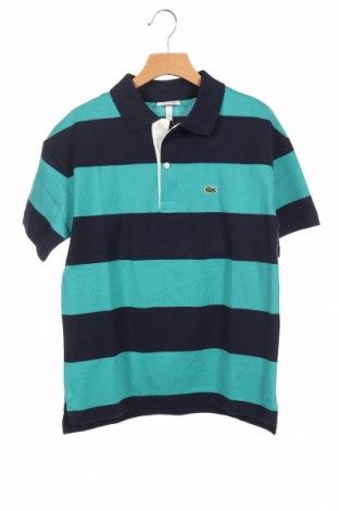Παιδικό μπλουζάκι Lacoste, Μέγεθος 10-11y/ 146-152 εκ., Χρώμα Πολύχρωμο, Βαμβάκι, Τιμή 22,81€