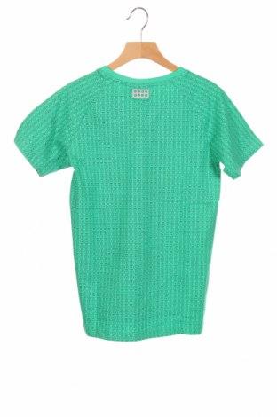 Детска тениска Lego, Размер 10-11y/ 146-152 см, Цвят Зелен, 95% памук, 5% еластан, Цена 23,25лв.