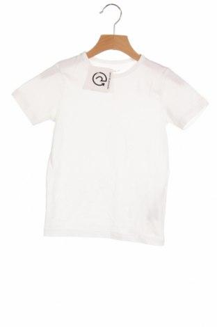 Παιδικό μπλουζάκι Name It, Μέγεθος 4-5y/ 110-116 εκ., Χρώμα Λευκό, 95% βαμβάκι, 5% ελαστάνη, Τιμή 6,20€