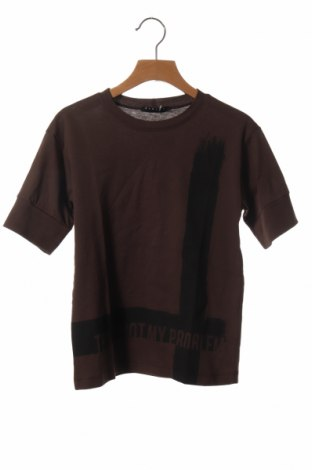 Παιδικό μπλουζάκι Sisley, Μέγεθος 5-6y/ 116-122 εκ., Χρώμα Καφέ, Βαμβάκι, Τιμή 7,09€