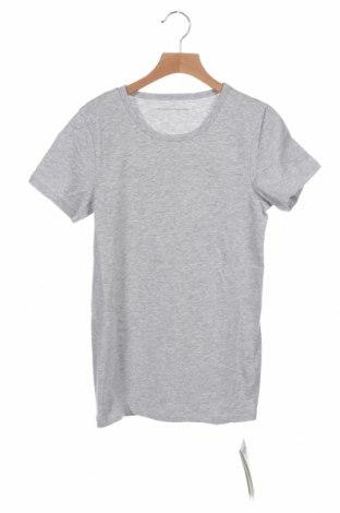 Παιδικό μπλουζάκι United Colors Of Benetton, Μέγεθος 12-13y/ 158-164 εκ., Χρώμα Γκρί, 95% βαμβάκι, 5% ελαστάνη, Τιμή 7,48€
