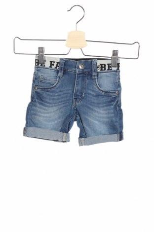 Детски къс панталон Blue Seven, Размер 18-24m/ 86-98 см, Цвят Син, 81% памук, 18% полиестер, 1% еластан, Цена 16,20лв.