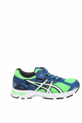 Παιδικά παπούτσια ASICS, Μέγεθος 31, Χρώμα Πολύχρωμο, Κλωστοϋφαντουργικά προϊόντα, δερματίνη, Τιμή 35,40€
