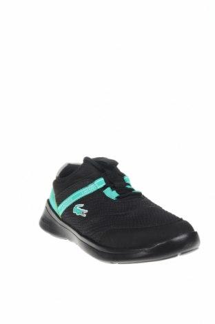 Παιδικά παπούτσια Lacoste, Μέγεθος 33, Χρώμα Μαύρο, Κλωστοϋφαντουργικά προϊόντα, Τιμή 26,97€