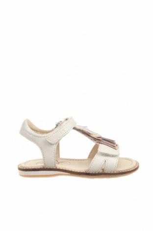 Παιδικά σανδάλια, Μέγεθος 24, Χρώμα Λευκό, Γνήσιο δέρμα, Τιμή 25,57€
