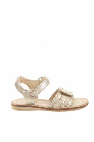 Детски сандали, Размер 24, Цвят Екрю, Естествена кожа, Цена 19,84лв.