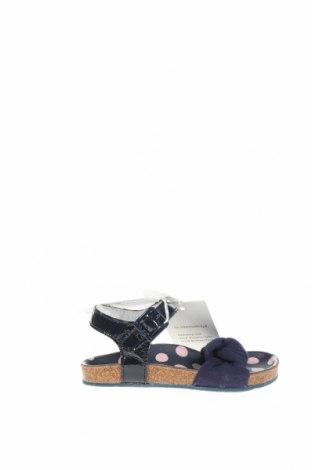 Παιδικά σανδάλια Armani Junior, Μέγεθος 24, Χρώμα Μπλέ, Γνήσιο δέρμα, κλωστοϋφαντουργικά προϊόντα, Τιμή 30,49€