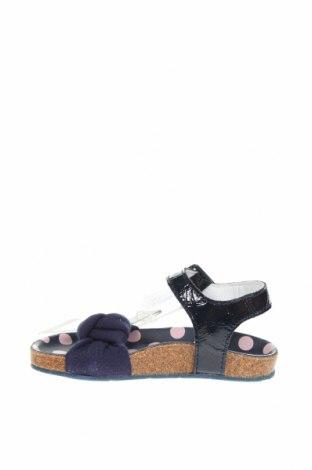 Παιδικά σανδάλια Armani Junior, Μέγεθος 24, Χρώμα Μπλέ, Γνήσιο δέρμα, κλωστοϋφαντουργικά προϊόντα, Τιμή 29,62€