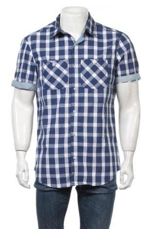Ανδρικό πουκάμισο Alcott, Μέγεθος XL, Χρώμα Μπλέ, Βαμβάκι, Τιμή 13,07€