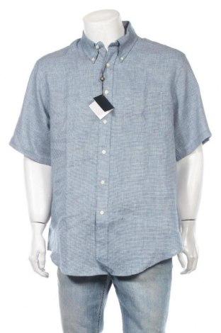 Ανδρικό πουκάμισο Brooks Brothers, Μέγεθος XL, Χρώμα Μπλέ, Λινό, Τιμή 42,14€