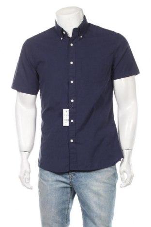 Мъжка риза Brooks Brothers, Размер M, Цвят Син, Памук, Цена 46,87лв.