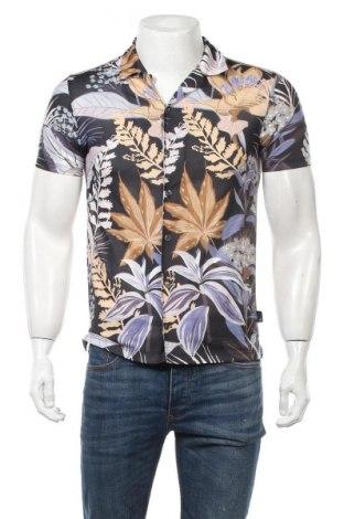 Мъжка риза Burton of London, Размер S, Цвят Многоцветен, Полиестер, Цена 38,35лв.