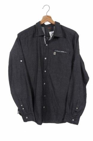 Ανδρικό πουκάμισο Gin Tonic, Μέγεθος M, Χρώμα Γκρί, Βαμβάκι, Τιμή 7,18€