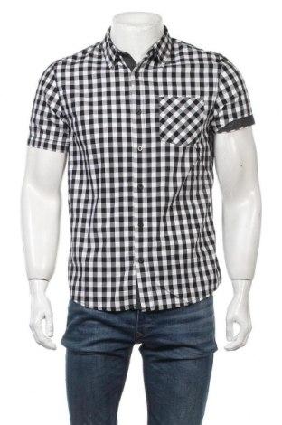 Ανδρικό πουκάμισο Guess, Μέγεθος M, Χρώμα Λευκό, Βαμβάκι, Τιμή 21,35€