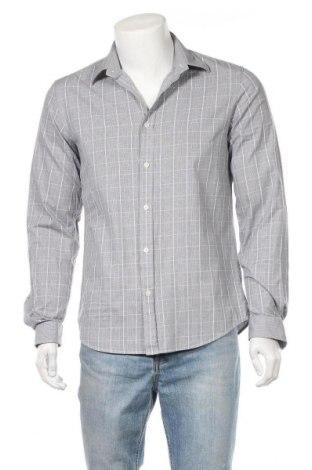 Ανδρικό πουκάμισο Tiger Of Sweden, Μέγεθος L, Χρώμα Μπλέ, Βαμβάκι, Τιμή 11,48€