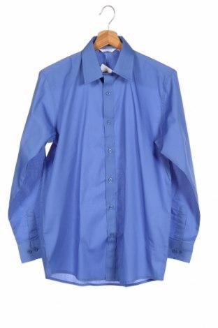 Ανδρικό πουκάμισο Trutex, Μέγεθος S, Χρώμα Μπλέ, Βαμβάκι, Τιμή 6,46€