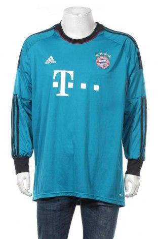Ανδρική αθλητική μπλούζα Adidas, Μέγεθος XXL, Χρώμα Μπλέ, Πολυεστέρας, Τιμή 23,45€