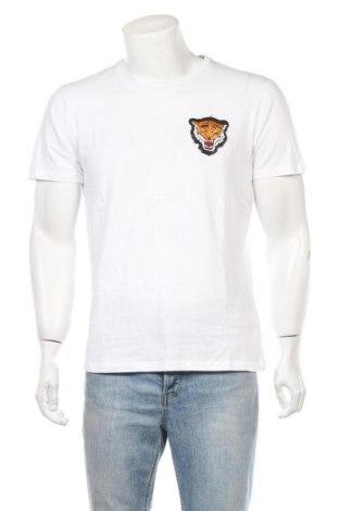 Ανδρικό t-shirt Alcott, Μέγεθος L, Χρώμα Λευκό, Βαμβάκι, Τιμή 14,43€