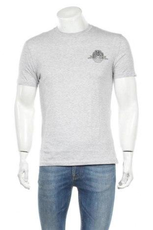 Мъжка тениска Lee Cooper, Размер S, Цвят Сив, Памук, Цена 13,76лв.