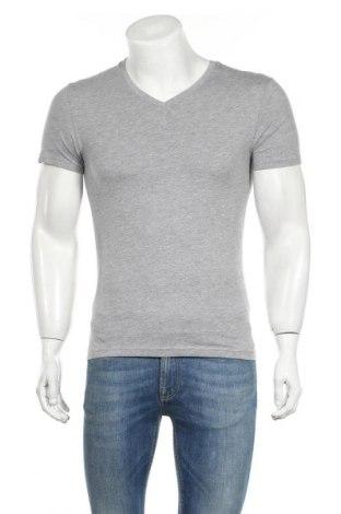 Мъжка тениска Pier One, Размер XS, Цвят Сив, 85% памук, 15% вискоза, Цена 14,00лв.