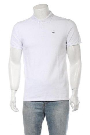 Мъжка тениска Scotch & Soda, Размер M, Цвят Бял, Памук, Цена 55,30лв.