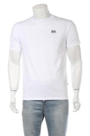 Ανδρικό t-shirt Wood Wood, Μέγεθος S, Χρώμα Λευκό, Βαμβάκι, Τιμή 30,51€