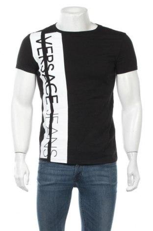 Мъжка тениска Versace Jeans, Размер XS, Цвят Черен, Памук, Цена 67,60лв.