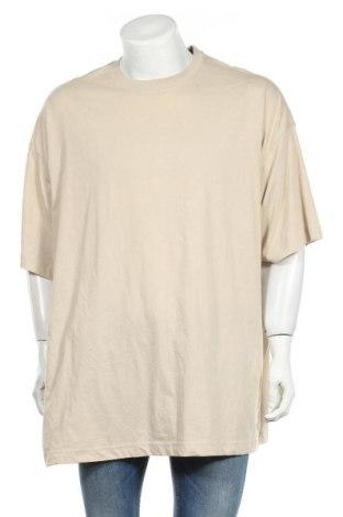 Ανδρικό t-shirt Weekday, Μέγεθος M, Χρώμα  Μπέζ, Βαμβάκι, Τιμή 6,20€