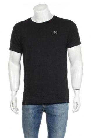 Ανδρικό t-shirt Wood Wood, Μέγεθος M, Χρώμα Μαύρο, Βαμβάκι, Τιμή 31,76€
