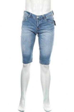 Ανδρικό κοντό παντελόνι Alcott, Μέγεθος M, Χρώμα Μπλέ, 99% βαμβάκι, 1% ελαστάνη, Τιμή 18,56€