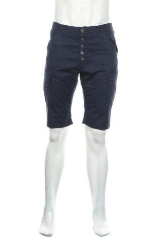 Мъжки къс панталон Best Mountain, Размер M, Цвят Син, Памук, Цена 22,36лв.