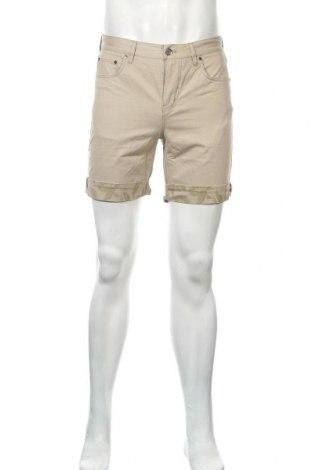 Ανδρικό κοντό παντελόνι Eleven Paris, Μέγεθος S, Χρώμα  Μπέζ, Βαμβάκι, Τιμή 10,18€