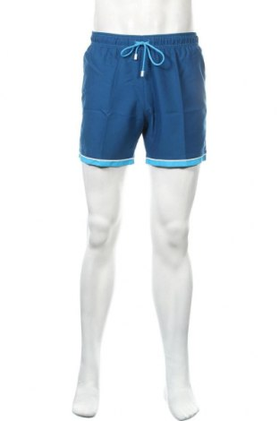 Мъжки къс панталон Lovable, Размер S, Цвят Син, Полиестер, Цена 18,90лв.
