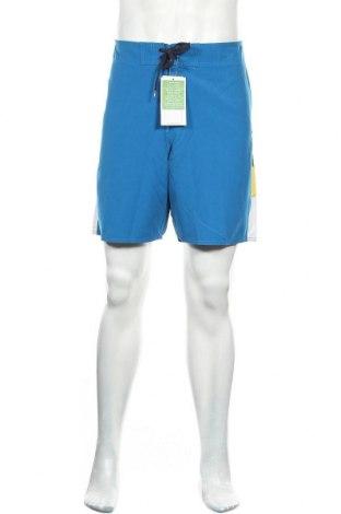 Ανδρικό κοντό παντελόνι Quiksilver, Μέγεθος L, Χρώμα Μπλέ, Πολυεστέρας, Τιμή 11,56€