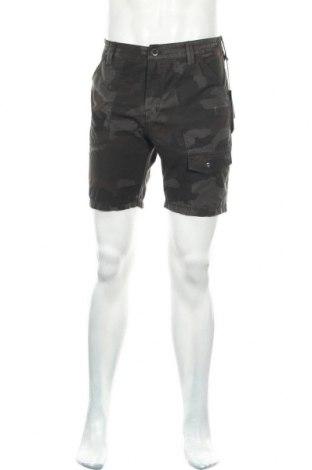 Ανδρικό κοντό παντελόνι Volcom, Μέγεθος S, Χρώμα Πράσινο, 72% πολυεστέρας, 22% βαμβάκι, 6% ελαστάνη, Τιμή 27,69€