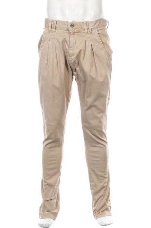 Мъжки панталон Dr. Denim, Размер L, Цвят Бежов, 98% памук, 2% еластан, Цена 12,22лв.