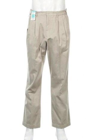 Ανδρικό παντελόνι Marks & Spencer Blue Harbour, Μέγεθος L, Χρώμα Γκρί, Βαμβάκι, Τιμή 17,58€