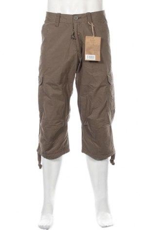Pantaloni de bărbați Schott, Mărime M, Culoare Verde, 65% bumbac, 35% poliamidă, Preț 32,23 Lei