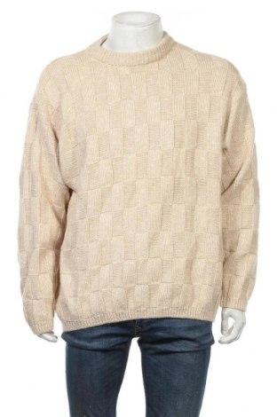 Ανδρικό πουλόβερ Gin Tonic, Μέγεθος XL, Χρώμα  Μπέζ, 40% μαλλί, 40%ακρυλικό, 20% βαμβάκι, Τιμή 17,28€