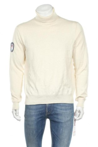 Мъжки пуловер Polo By Ralph Lauren, Размер L, Цвят Бежов, Памук, Цена 97,46лв.