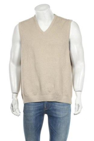 Ανδρικό πουλόβερ Vinci, Μέγεθος L, Χρώμα  Μπέζ, Βαμβάκι, Τιμή 9,29€