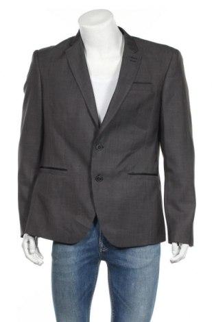 Ανδρικό σακάκι Pascal Morabito, Μέγεθος XL, Χρώμα Γκρί, 90% πολυεστέρας, 10% βισκόζη, Τιμή 7,80€