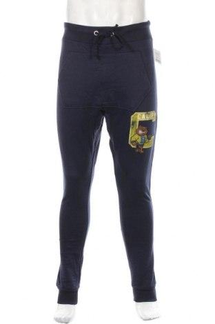 Ανδρικό αθλητικό παντελόνι Alcott, Μέγεθος S, Χρώμα Μπλέ, 50% βαμβάκι, 50% πολυεστέρας, Τιμή 16,24€