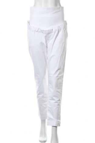 Maternity pants Belly Button, Μέγεθος M, Χρώμα Λευκό, 97% βαμβάκι, 3% ελαστάνη, Τιμή 18,31€