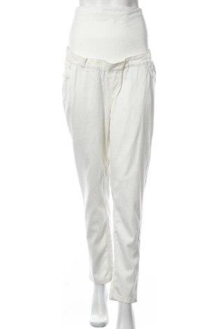 Панталон за бременни Belly Button, Размер XL, Цвят Бял, 59% лиосел, 38% памук, 3% еластан, Цена 23,14лв.
