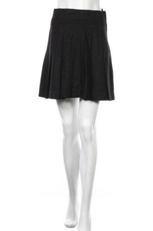 Пола H&M, Размер XS, Цвят Черен, 55% лен, 45% вискоза, Цена 5,50лв.