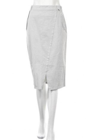 Пола Le Phare De La Baleine, Размер L, Цвят Сив, 97% памук, 3% еластан, Цена 41,87лв.
