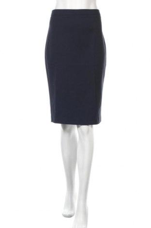 Пола Stefanel, Размер XS, Цвят Син, 51% памук, 46% полиестер, 3% еластан, Цена 20,28лв.