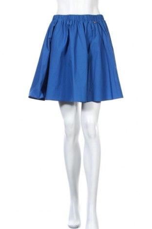 Φούστα TWINSET, Μέγεθος S, Χρώμα Μπλέ, 97% βαμβάκι, 3% ελαστάνη, Τιμή 39,41€